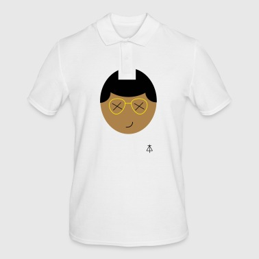 tough emoji - Men's Polo Shirt