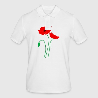 Poppy poppy - Men's Polo Shirt