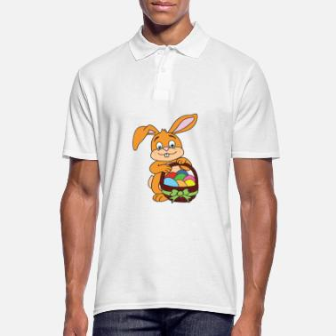 Easter Easter motive Easter Easter bunny - Men's Polo Shirt