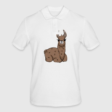 Pretty Lama - Men's Polo Shirt
