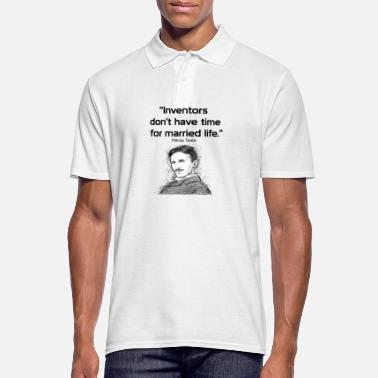 Economía Mundial Inventors don t have time for married life - Camiseta polo hombre