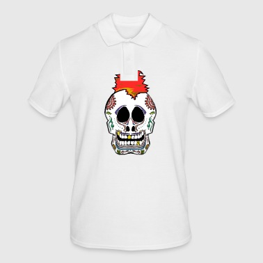 Sugar Skull Calavera Skull Punk - Men's Polo Shirt