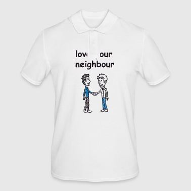 love your neighbor / charity - Men's Polo Shirt