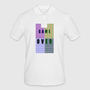 PIXELS GAME OVER - Men's Polo Shirt