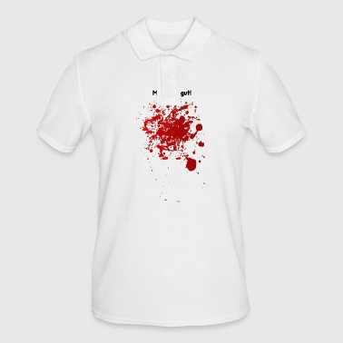 Bloodstain Bloodstain - I'm fine - fun gift idea - Men's Polo Shirt