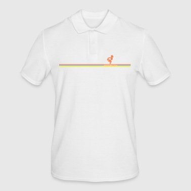 Strip FF Neon Flamingo Stripes - Polo hombre