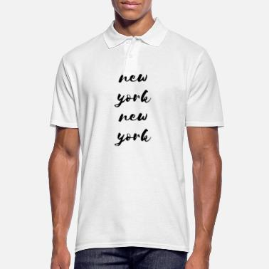 New York New York, New York - Polo Homme