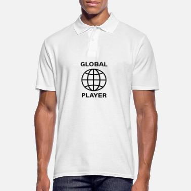 Global acteur global - Polo Homme