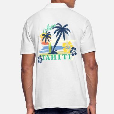 Tahiti ALOHA TAHITI Tee Shirts - Men's Polo Shirt