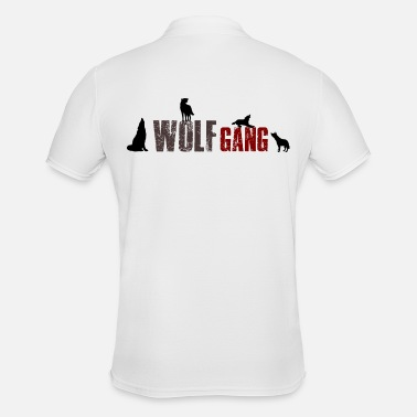 456aa00d11f1 Wolfgang Wolfgang-Wolf Gang 2 Name or group of animals  - Men  39. Men s  Polo Shirt