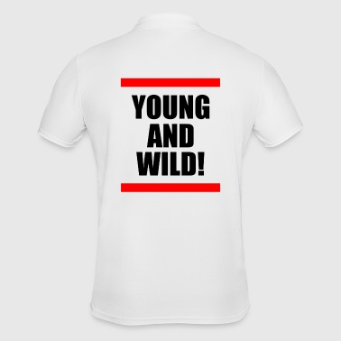 Young and Wild / Young and Wild - Men's Polo Shirt