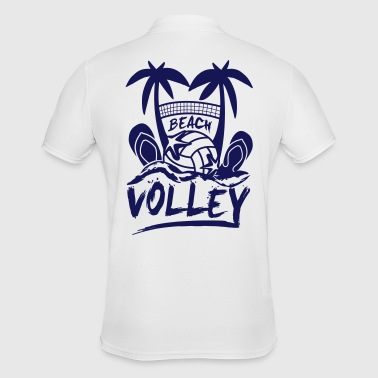 BEACH VOLLEY - Herre poloshirt