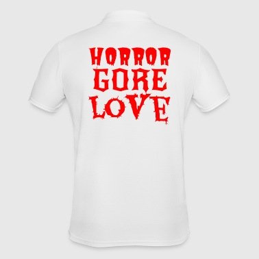 Horror Gore Love - Men's Polo Shirt