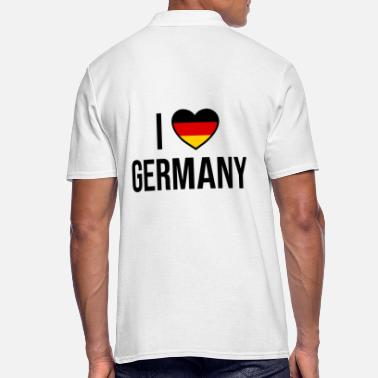 I love Germany I love Germany - Men's Polo Shirt
