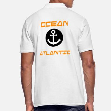 Atlantic OCEAN ATLANTIC - Men's Polo Shirt