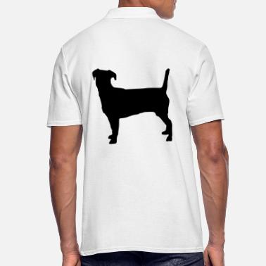 Jack - Russel Jack Russell Terrier Silhouette - Men's Polo Shirt