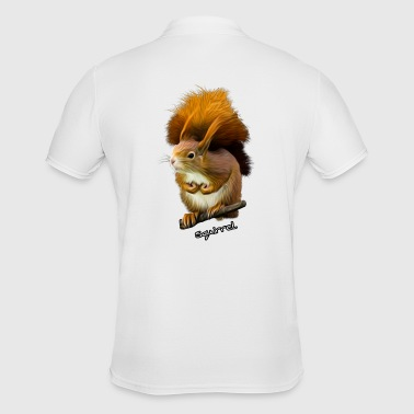 Squirrel Squirrel, squirrel, sweet squirrel - Men's Polo Shirt