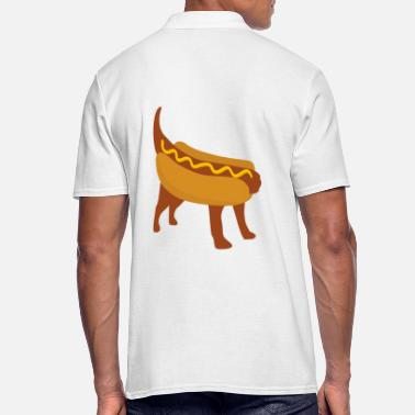 Hot Dog Dog or hot dog? - Men's Polo Shirt