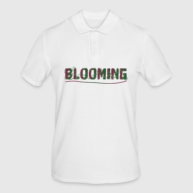 BLOOMING - Men's Polo Shirt
