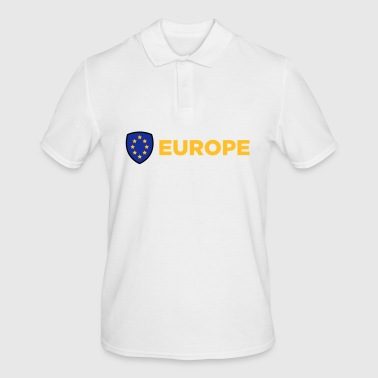 The Union Flag Of Europe - Men's Polo Shirt