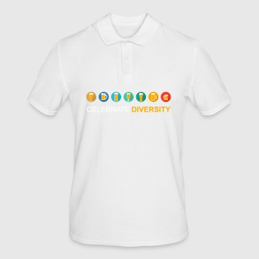 Celebrate Diversity - Men's Polo Shirt