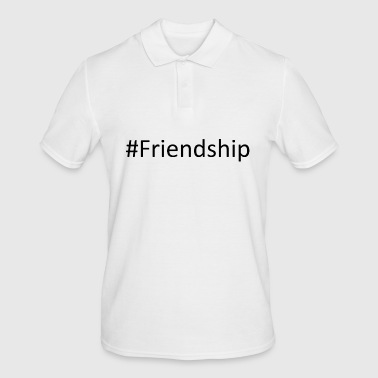 #Friendship - Men's Polo Shirt