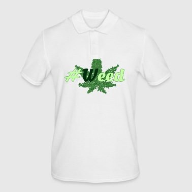 #Weed - Men's Polo Shirt
