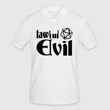lawful evil - Men's Polo Shirt