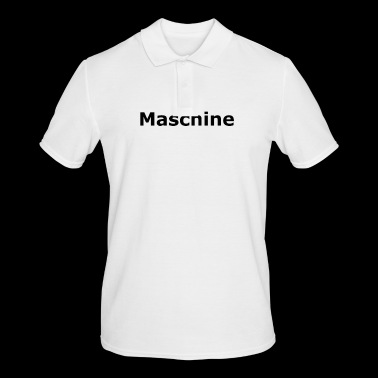 machine - Mannen poloshirt