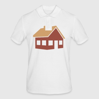 building house homes architecture house building211 - Men's Polo Shirt