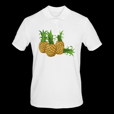 Pineapples - pineapple - Men's Polo Shirt
