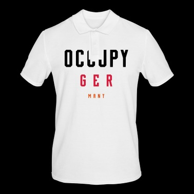 OCCUPY GERMANY - Men's Polo Shirt