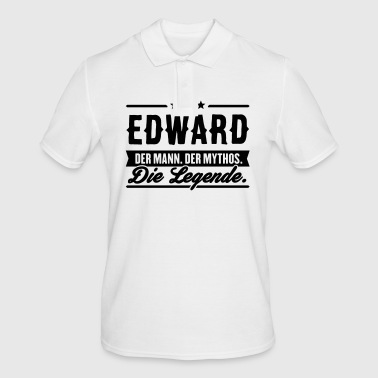 Man Myth Legend Edward - Men's Polo Shirt