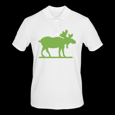 Moose Norway Sweden Finland Scandinavia - Men's Polo Shirt