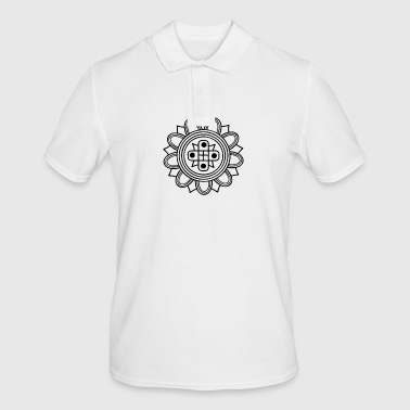 indian fashion old pattern - Men's Polo Shirt