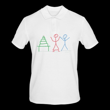 married couple - Men's Polo Shirt