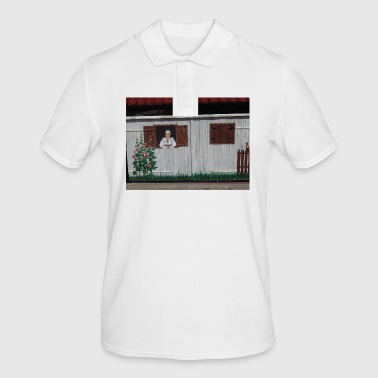 Woman at the window - Men's Polo Shirt