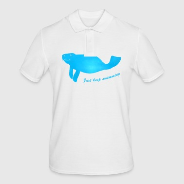 Manatee - Men's Polo Shirt