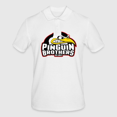PinGuiN-Brothers Clan - Men's Polo Shirt