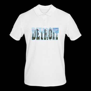 detroit USA - Men's Polo Shirt