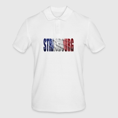 FRANCE STRASBOURG - Men's Polo Shirt