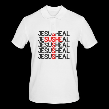 Jesus Heal - Men's Polo Shirt