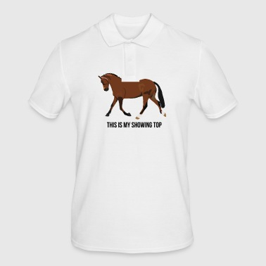 Afficher poney - Polo Homme