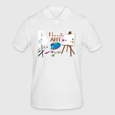 to paint - Men's Polo Shirt