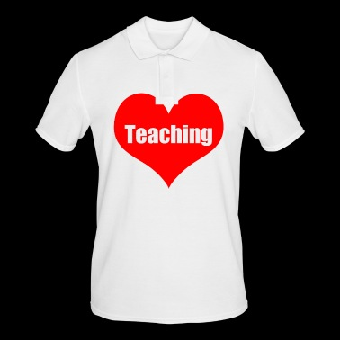 teaching - Men's Polo Shirt