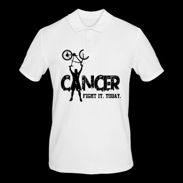 Cancer. Fight it. Today - Men's Polo Shirt