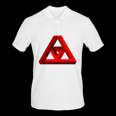 Triangle - Men's Polo Shirt