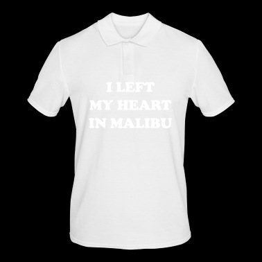 I Left My Heart In Malibu - Men's Polo Shirt