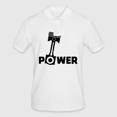 Piston power engine piston force - Men's Polo Shirt