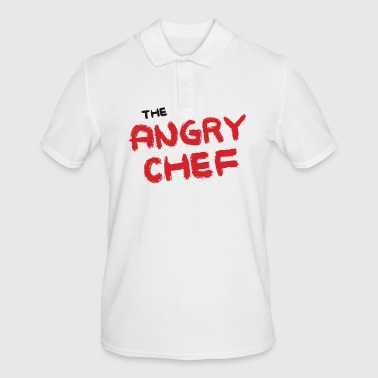 Chef / Chef Cook: The Angry Chef - Men's Polo Shirt